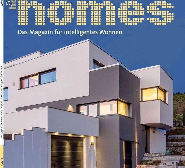 Doppelhaus in der Smart Homes