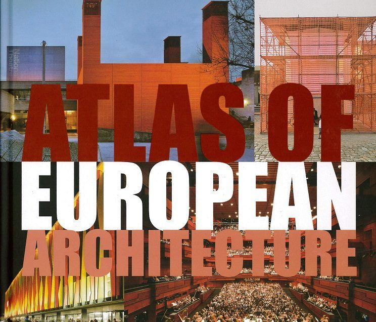 """Reflecting Cube"" im ""Atlas Of European Architecture"""