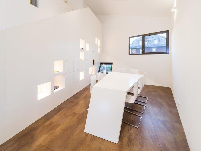 Möbelentwurf für ein Architekturbüro (Tisch)