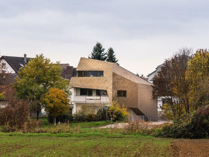 Dachaufstockung für ein Architekturbüro, Lorsch