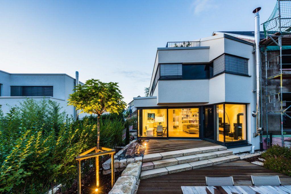 Fertigstellung des Einfamilienwohnhauses in Weinheim