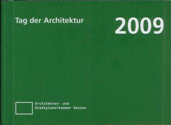Auszeichnung beim Tag der Architektur 2009
