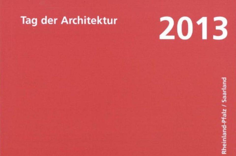 Auszeichnung Tag der Architektur 2013