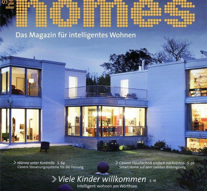 Kaskadenhaus in der Smart Homes