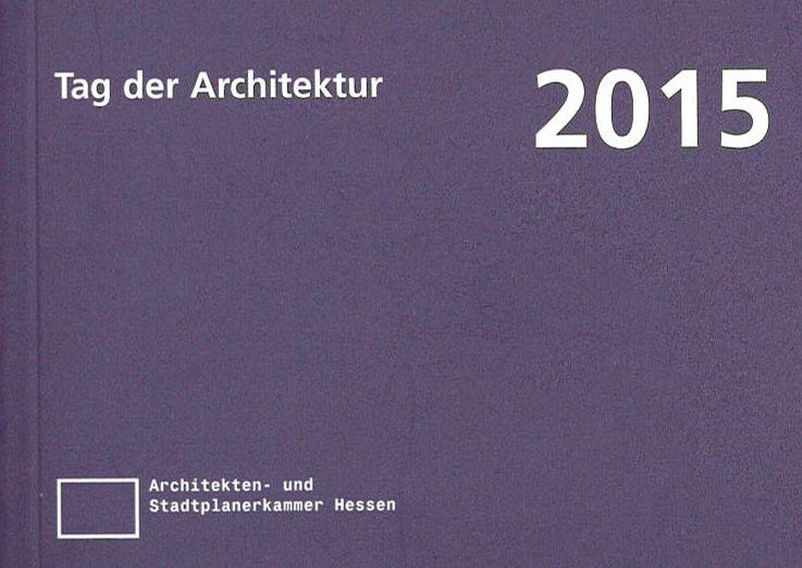 Auszeichnung - Tag der Architektur 2015