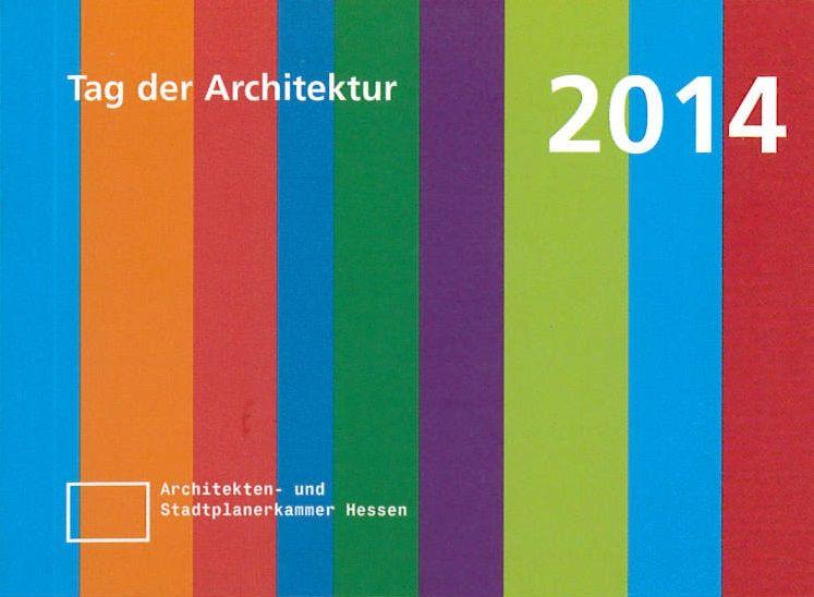 Auszeichnung - Tag der Architektur 2014