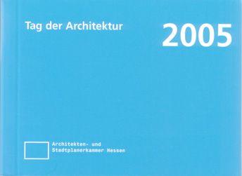 Auszeichnung Tag der Architektur 2005