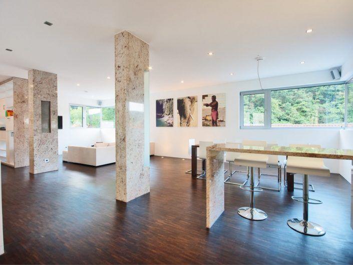 Einfamilienwohnhaus Weinheim – Säulen
