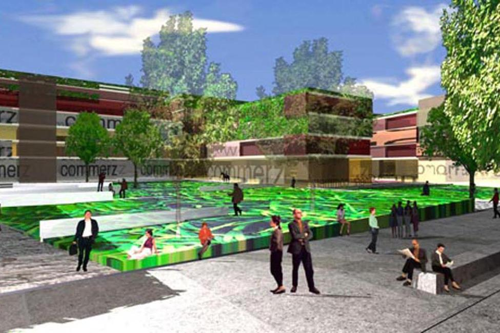 Wettbewerb kurf rstenanlage heidelberg helwig haus raum planungs gmbh - Architekturburo heidelberg ...