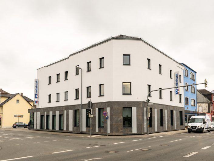 Umbau und Sanierung eines Bankgebäudes in Bensheim