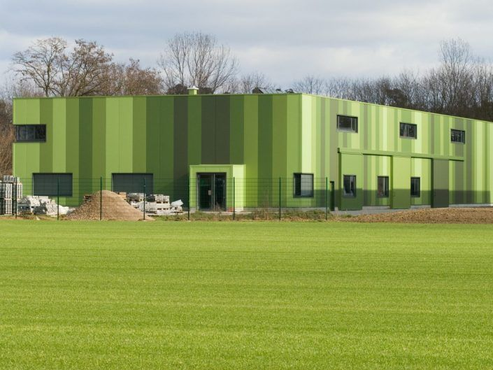 Green Unlimited - Maschinenhalle mit Büro in Lampertheim-Hüttenfeld