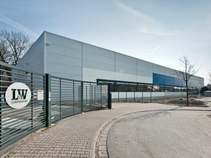 Neubau einer Lager- und Produktionshalle in Lampertheim