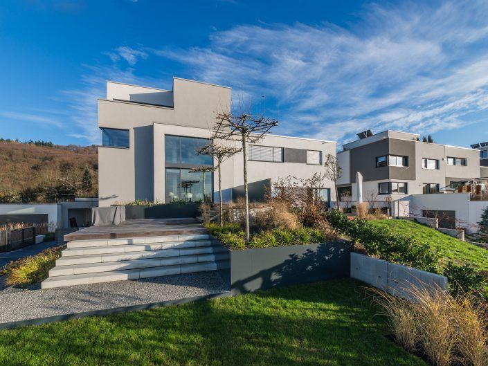 Neubau einer Doppelhaushälfte in Malchen