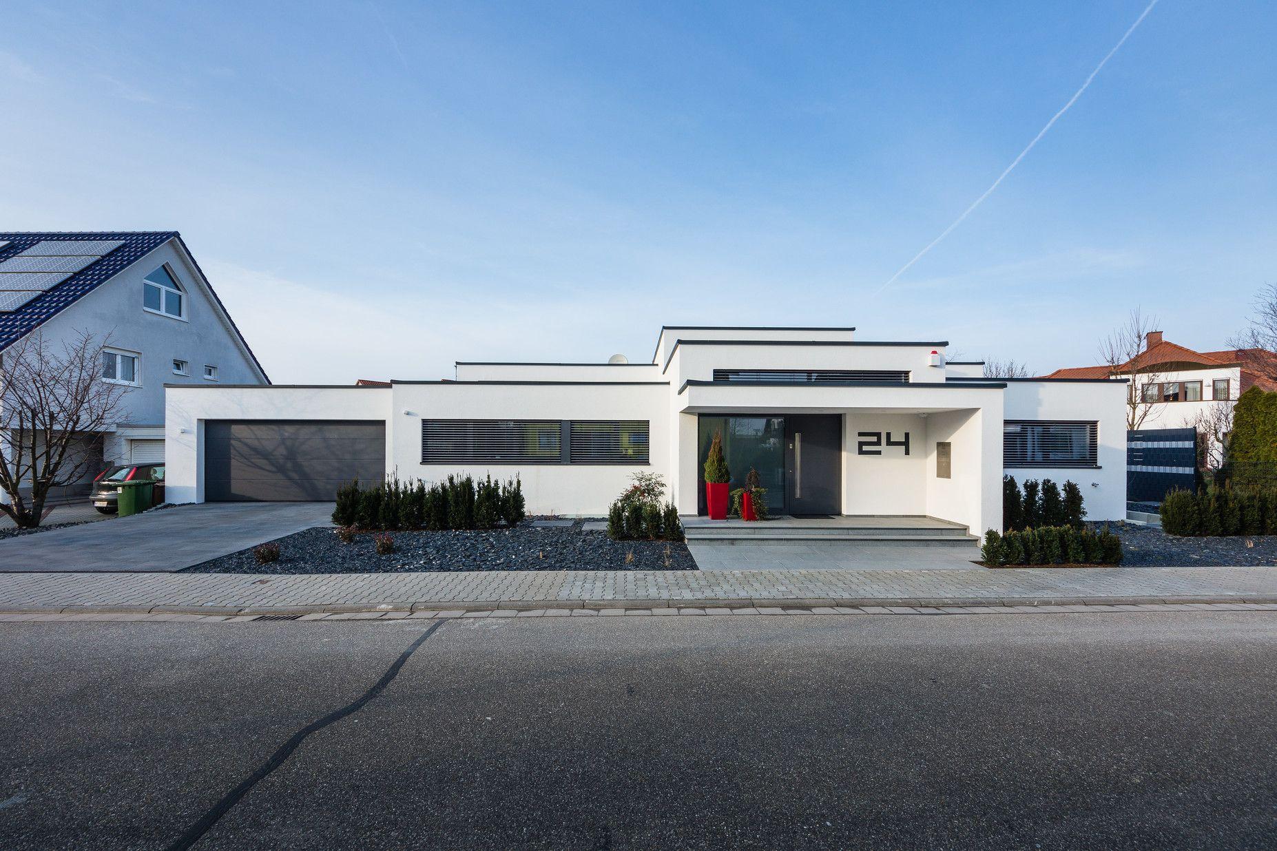 Kaskadenhaus einfamilienwohnhaus in b rstadt helwig for Architektur 80er jahre