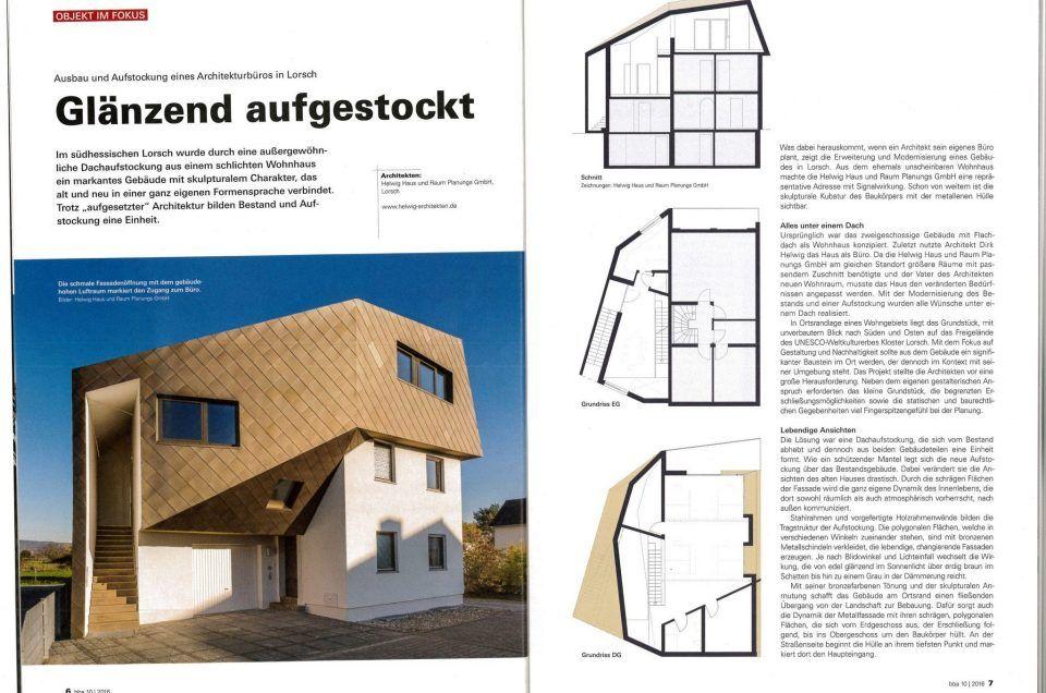 Architektur Magazin presse helwig haus raum planungs gmbh