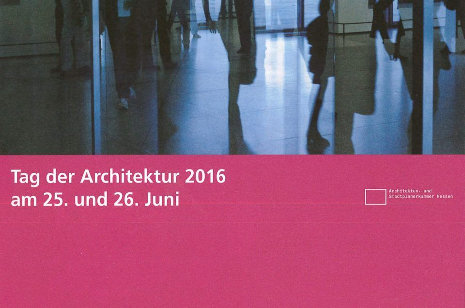 Tag der Architektur 2016