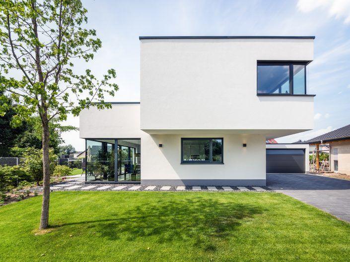 Spiel mit drei Kuben - Einfamilienhaus in Bürstadt