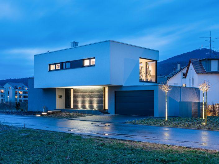 upside Down - Neubau eines Einfamilienhauses