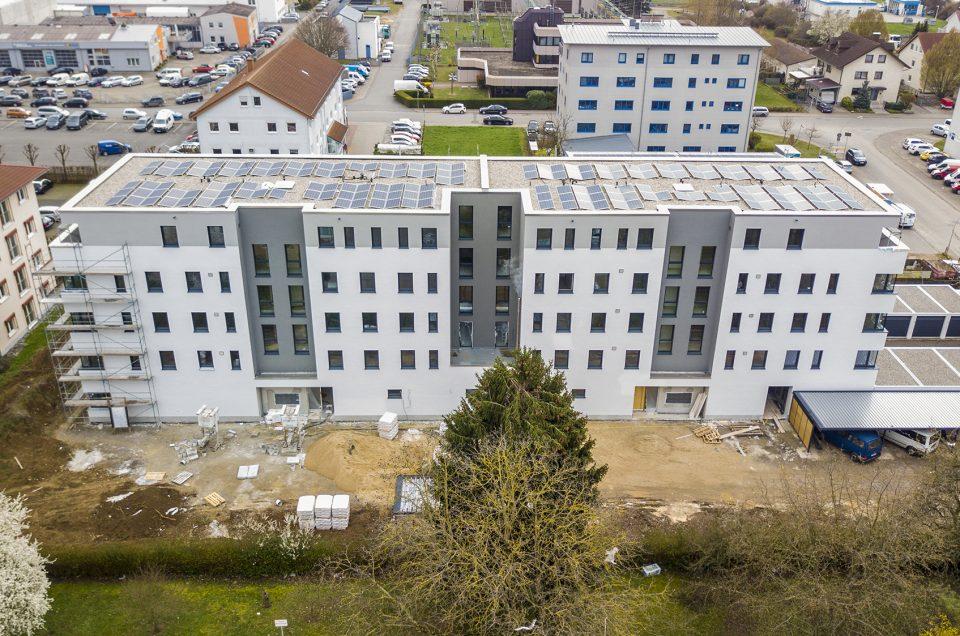 Heppenheim - Fertigstellung der Nord- und Westfassaden